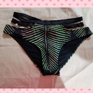 Zingara HIGH Rise Strappy Bikini bottoms